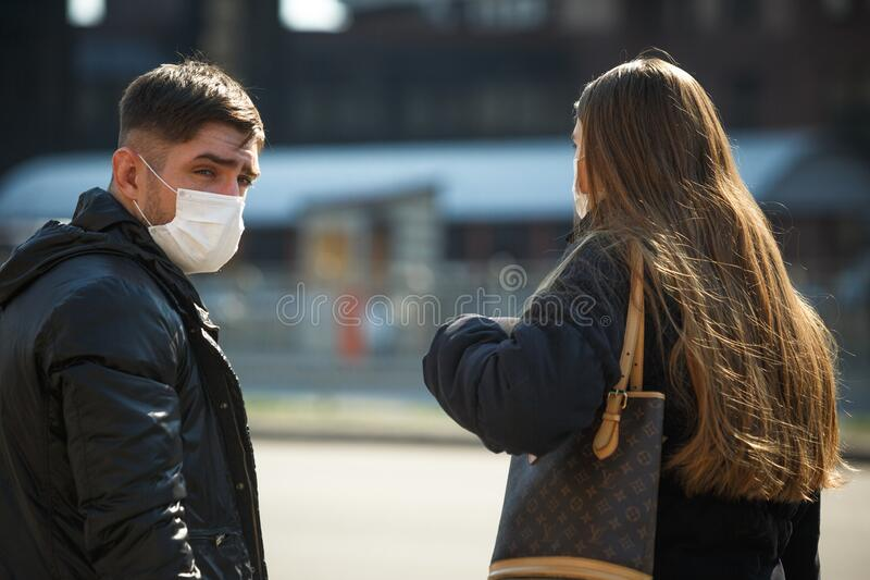 Coronavirus Pneumonia Outbreaks in Ukraine stock photography