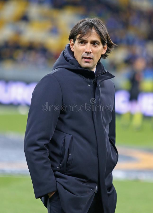 UEFA Europa League: FC Dynamo Kyiv v SS Lazio royalty free stock photos