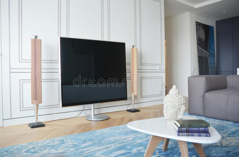 2 546 Modern Living Room Design Tv Photos Free Royalty Free Stock Photos From Dreamstime