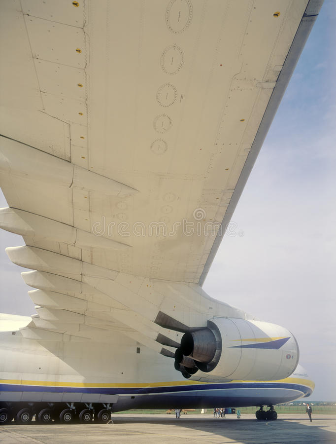 KYIV, UKRAINE-SEPTEMBER 28: Antonov 225 Editorial Image