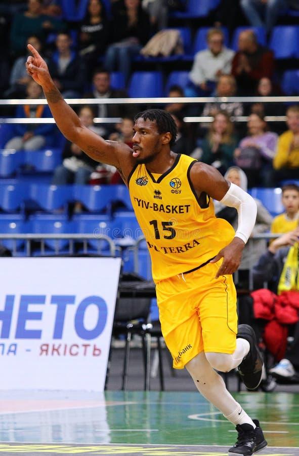 FIBA Basketball Champions League: BC Kyiv Basket v San Pablo Burgos royalty free stock photo