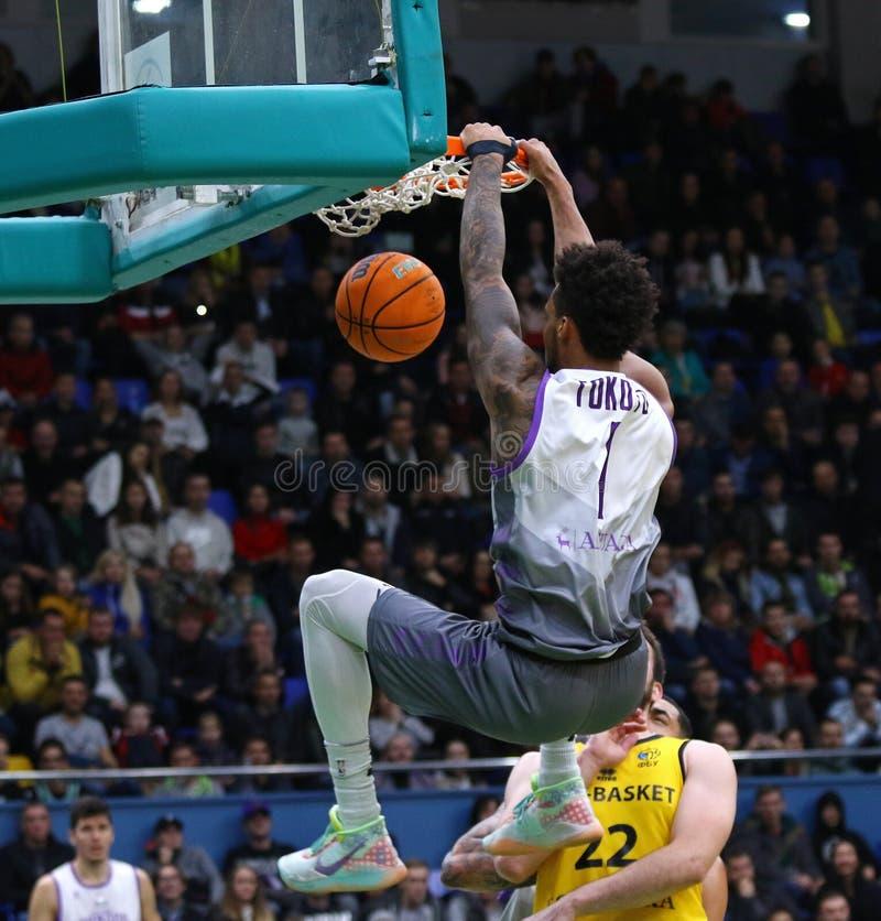 FIBA Basketball Champions League: BC Kyiv Basket v San Pablo Burgos stock photos