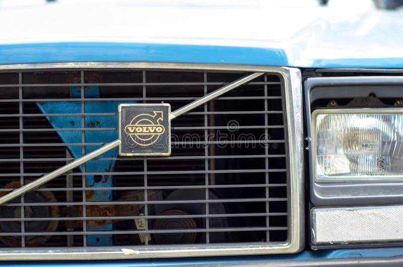 Kyiv, Ukraine - September 30, 2018: Old Volvo Logo royalty free stock image