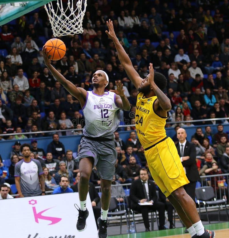 FIBA Basketball Champions League: BC Kyiv Basket v San Pablo Burgos stock images