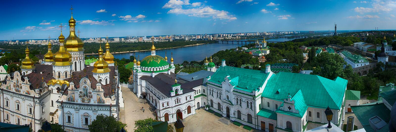Kyivo-Pecherska Lavra fotografia stock