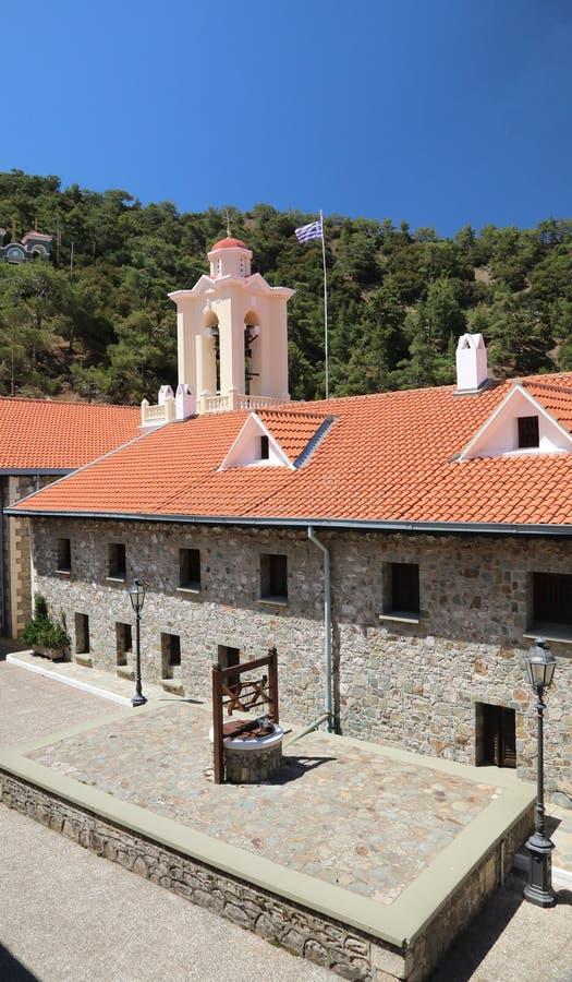 Kykkos-Kloster Troodos-Berge lizenzfreies stockbild