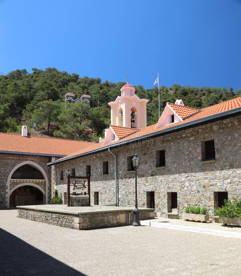 Kykkos-Kloster Troodos-Berge lizenzfreie stockbilder