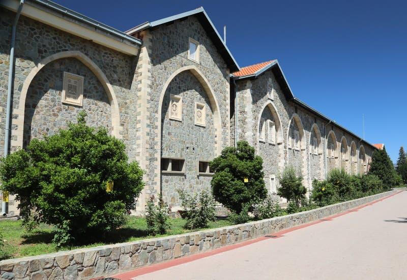 Kykkos-Kloster Troodos-Berge lizenzfreie stockfotografie