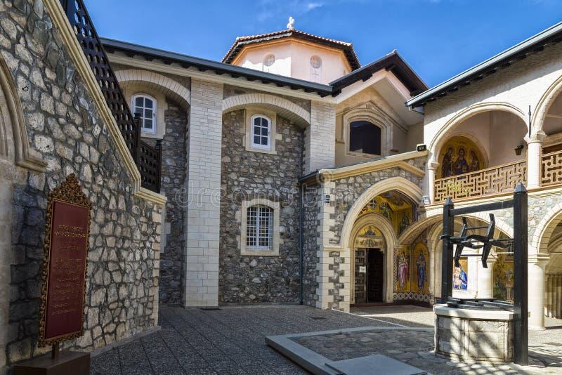 Kykkos monaster ikona maryja dziewica Cypr obraz royalty free
