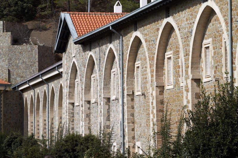 Kykkos Monastery royalty free stock photo