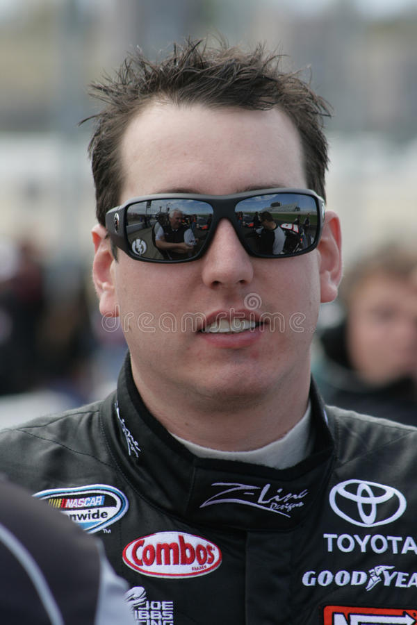 Kyle Busch royalty free stock photo