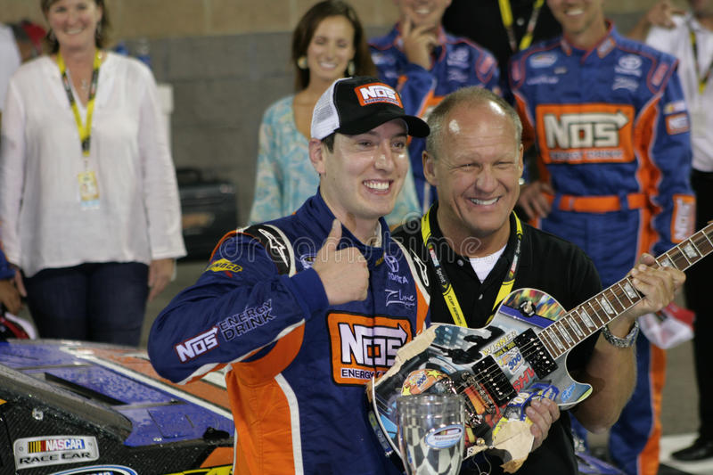 Kyle Busch Wins at Nashville stock images