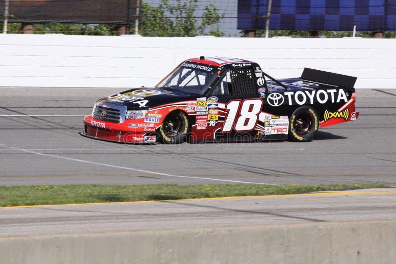 Kyle Bush 18 séries de qualificação do caminhão do excitador NASCAR foto de stock