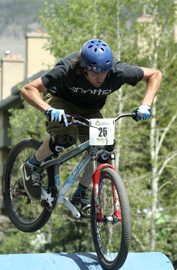 Free Kyle Ebbett - Freeride Dual Royalty Free Stock Images - 14704069