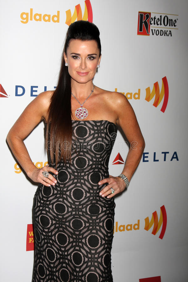Download Kyle Richards editorial stock image. Image of 2012, media - 25373534