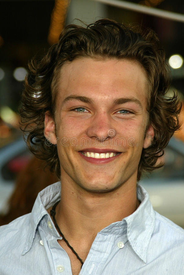 Download Kyle Schmid editorial stock image. Image of 31, 05, kyle - 32457054