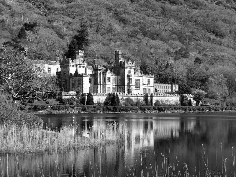 Kylemore修道院 库存图片