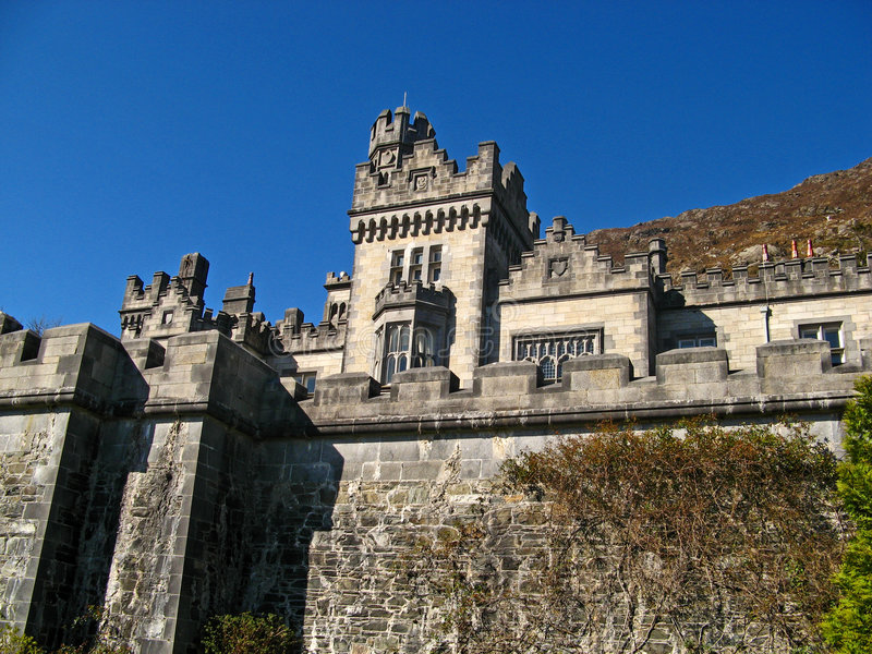 Download Kylemore Abbey 08 editorial photo. Image of lake, christian - 6372661