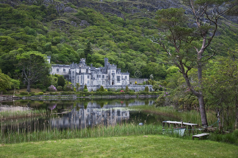 Download Kylemore Abbey editorial photography. Image of kylemore - 14548332