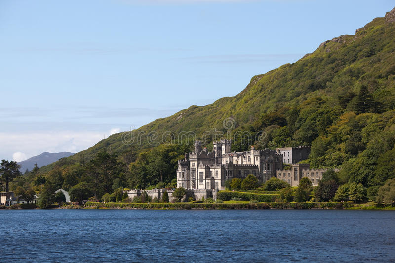 Download Kylemore Abbey editorial photography. Image of lake, green - 15502707