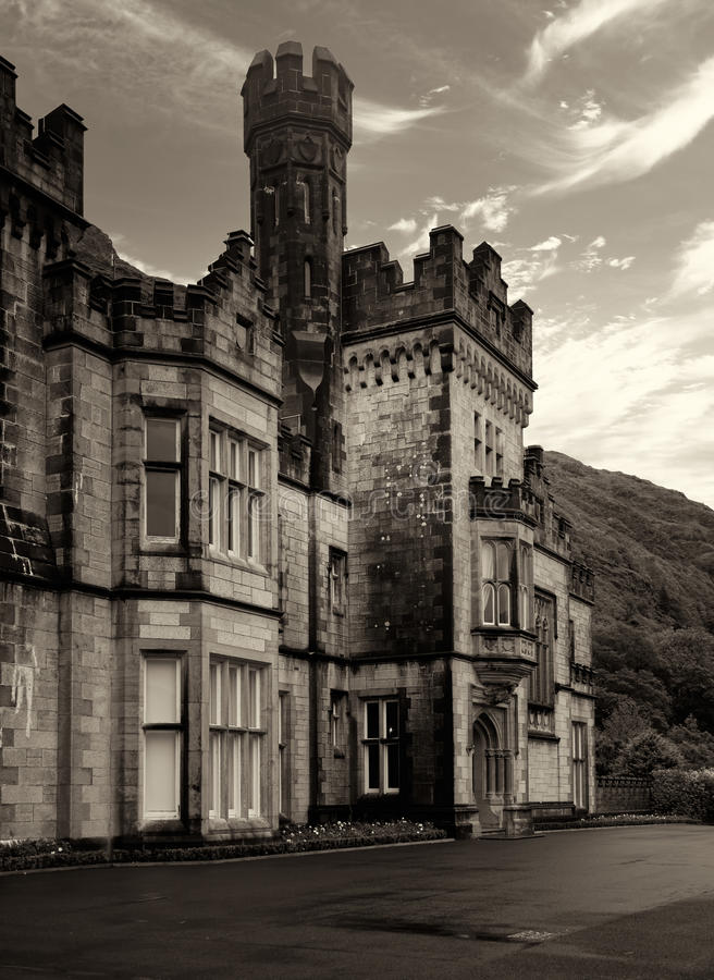 Download Kylemore Abbey editorial stock image. Image of evening - 23731924