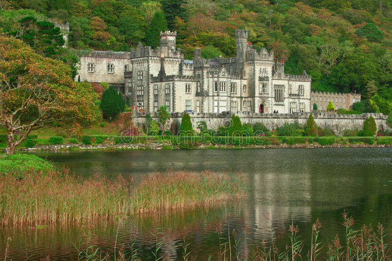 Download Kylemore Abbey editorial image. Image of lake, benedictine - 27240295