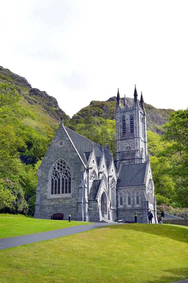 Kylemore Abbey Church arkivfoto