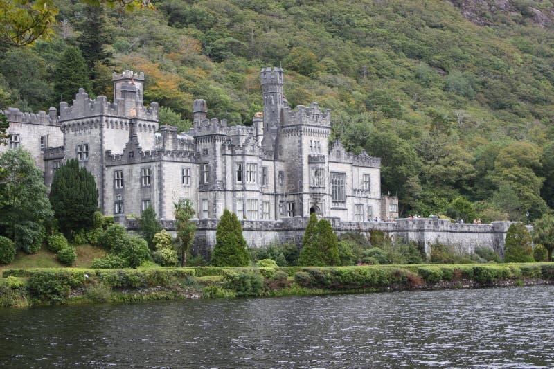 Kylemore Abbey Connemara County Galway Ireland royalty-vrije stock afbeelding