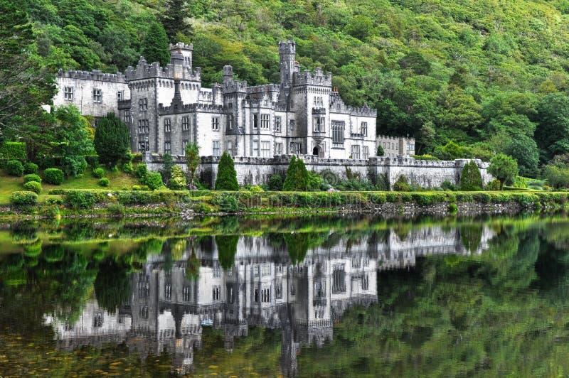 Kylemore Abbey, Ireland royalty free stock image