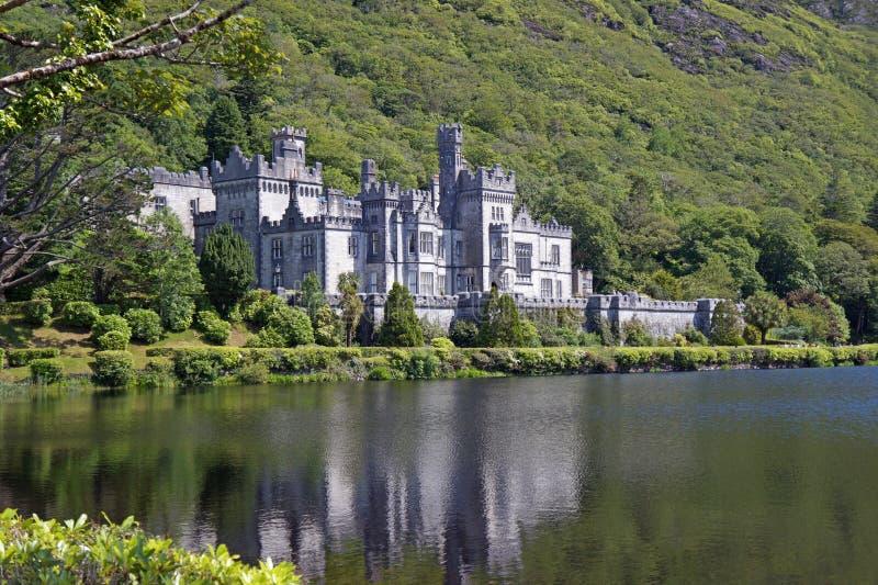Kylemore Abbey Irland royaltyfria foton