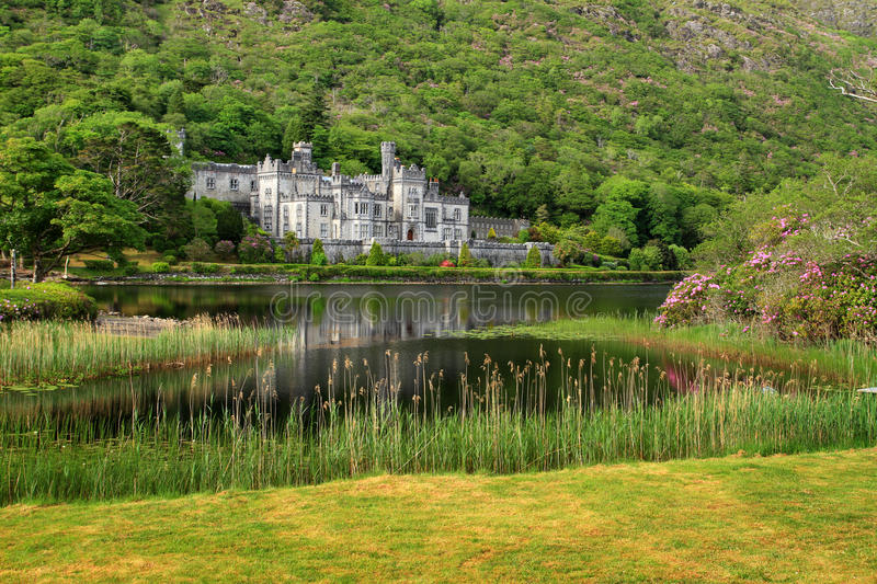 Download Kylemore Abbey scenery editorial photo. Image of boarding - 14700831