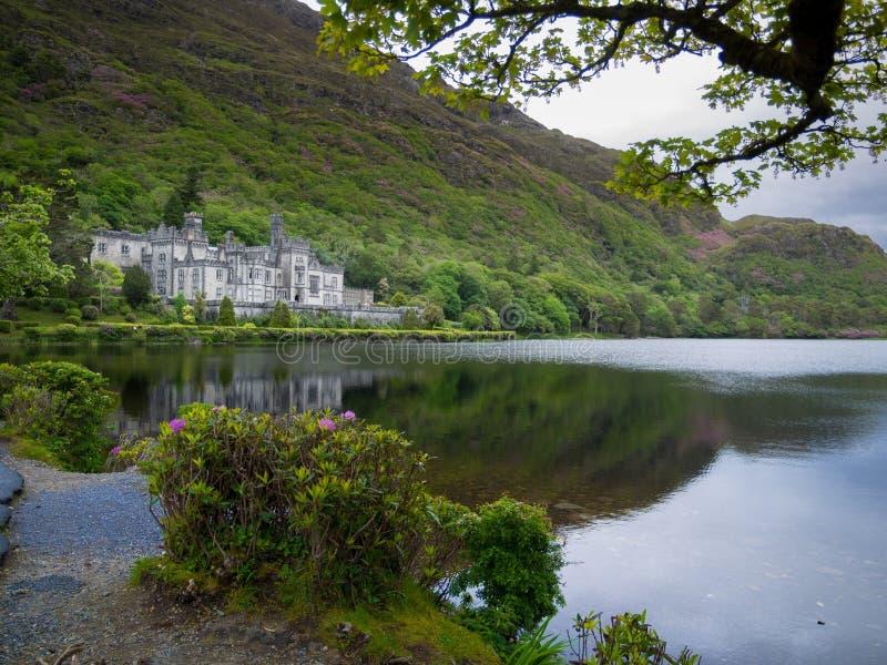 Kylemore opactwa kasztel Galway zdjęcie royalty free