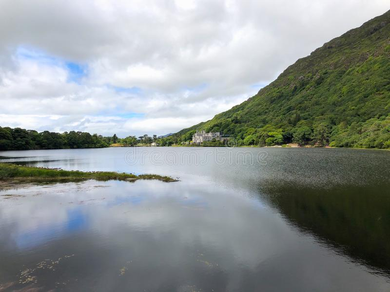 Kylemore opactwo, Connemara, okręg administracyjny Galway, Irlandia zdjęcia royalty free