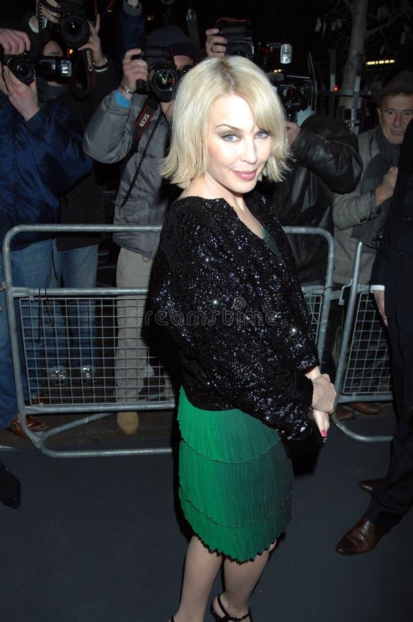 Kylie minogue που στο Λονδίνο 2016 στοκ εικόνες