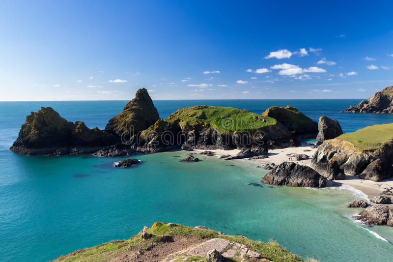 Download Kynance Cove Cornwall stock photo. Image of overlooking - 27488364