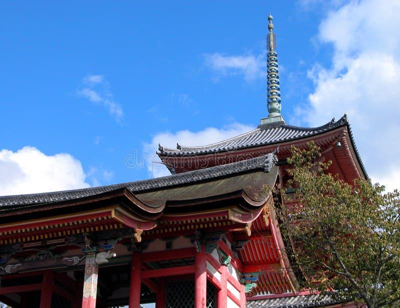 Kyomizudera pagoda royalty free stock images