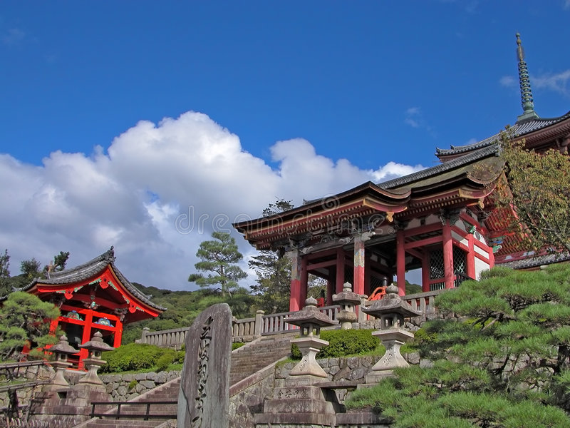 Download Kyomizudera temple stock photo. Image of monument, orient - 2162350