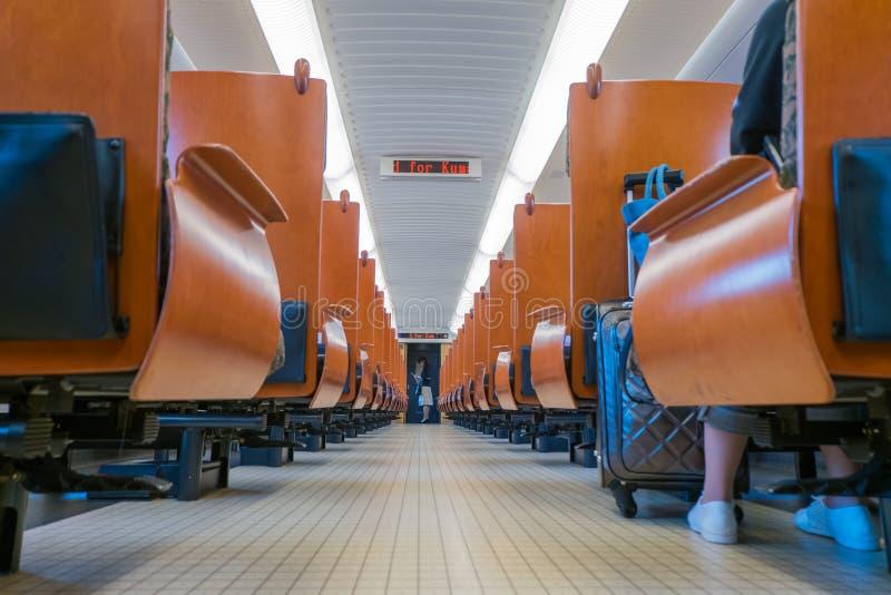 Kyoshu Shinkansen 免版税库存照片