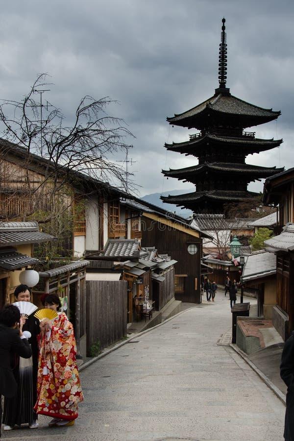 kyoto imagens de stock