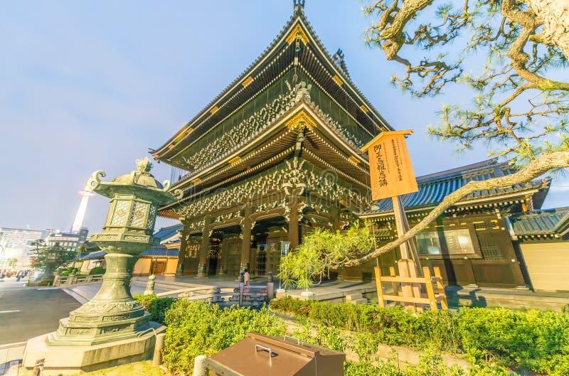 KYOTO - APRIL 2016: Higashi Hongan -hongan-ji is een boeddhistische tempel Kyot stock foto