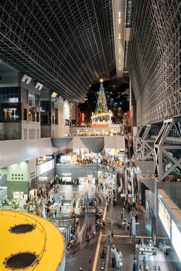 Kyoto-Bahnstation lizenzfreie stockbilder