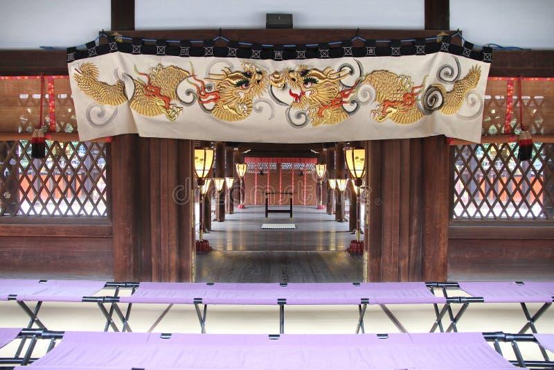 Kyoto - capilla de Shimogamo imagen de archivo libre de regalías