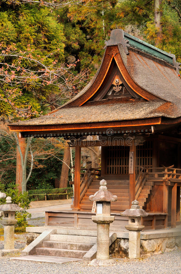 Kyoto, de Noordelijke Tempel van kiomizu-Dera stock foto's