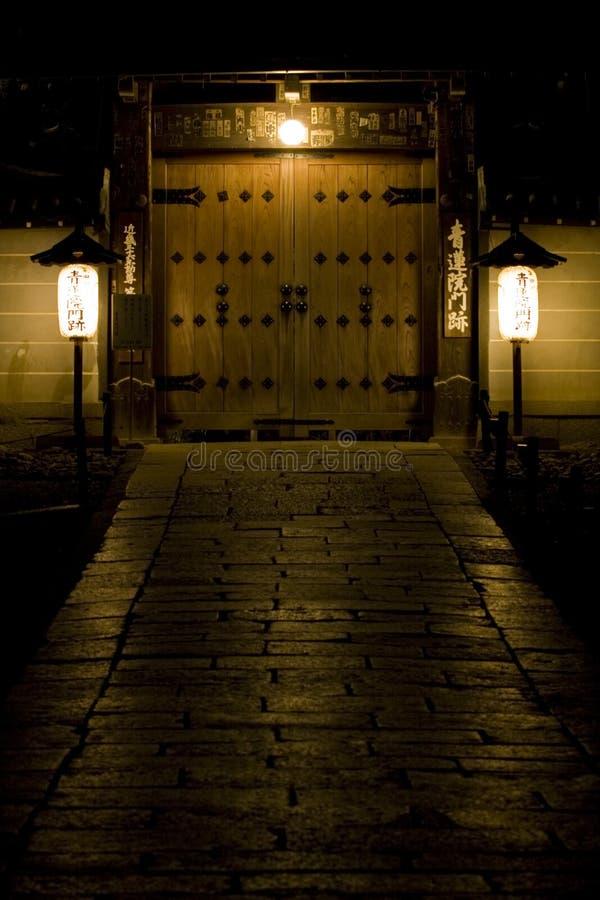 Kyoto door stock photo