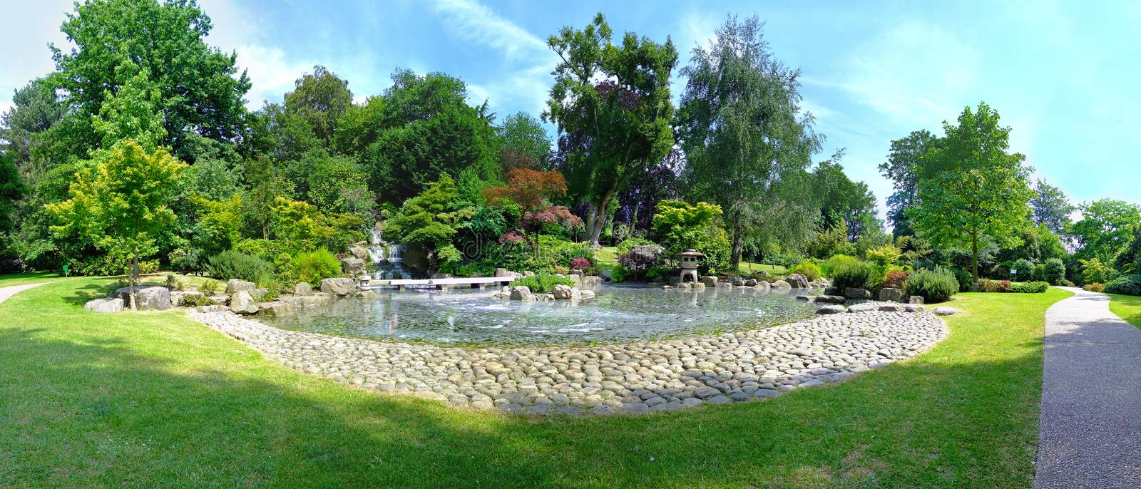 Download Kyoto garden stock image. Image of pond, kyoto, tree - 33652937