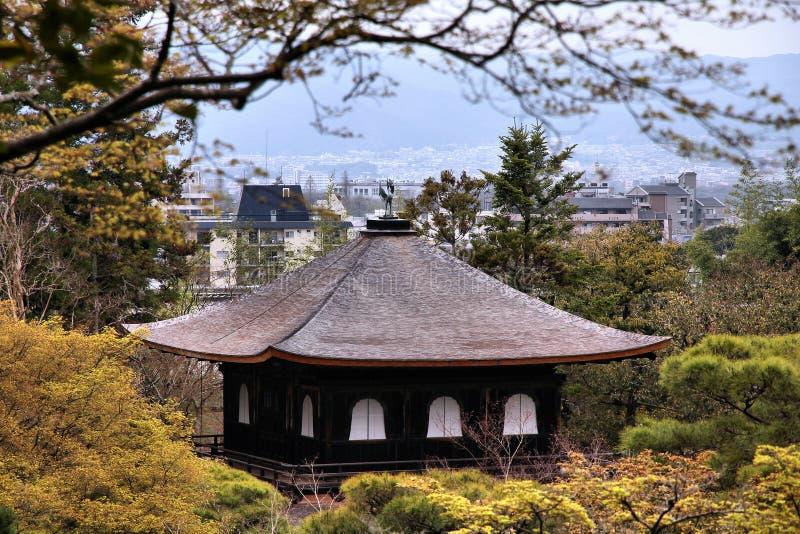 Kyoto - Ginkakuji imagens de stock royalty free