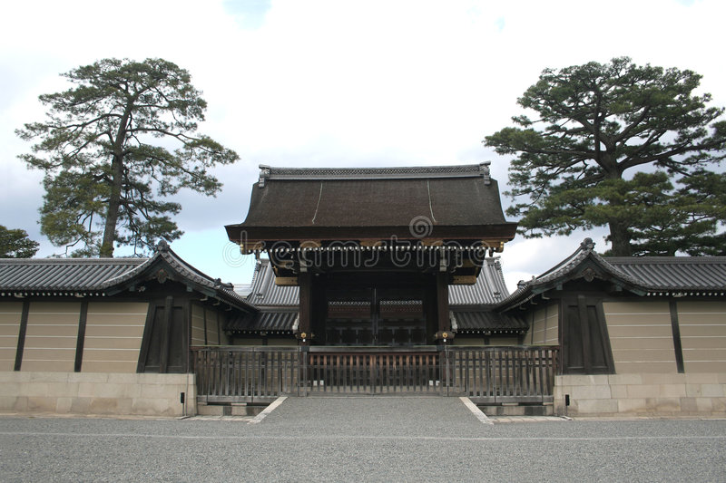 Kyoto Imperial Palace stock image