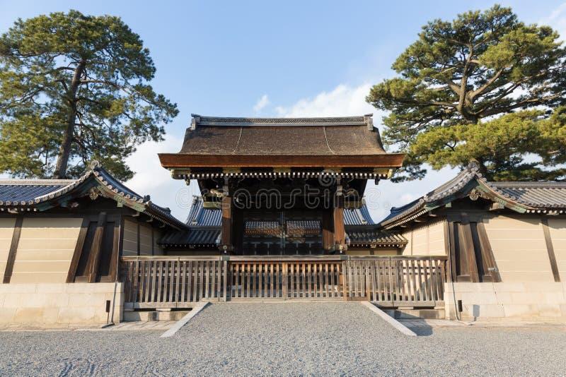 Kyoto imperialistisk slott i Japan fotografering för bildbyråer