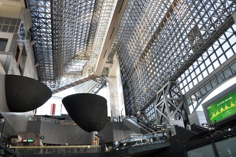 KYOTO, JAPAN - 27. OKTOBER: Kyoto-Station Ist Japans 2. Größtes Trai Redaktionelles Bild