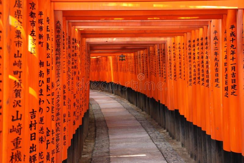 Kyoto Japan stock afbeelding